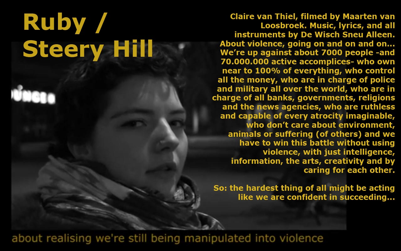 Ruby Steery Hill poster 2